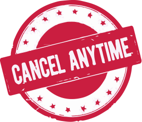 Cancel Anytime